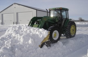 tractor snow
